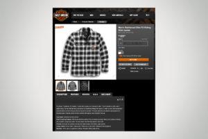 Harley-Davidson Reinforced Shirt Jacket