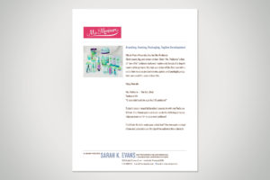 Ms. Manicure Branding, Naming, Packaging & Tagline Development sample content
